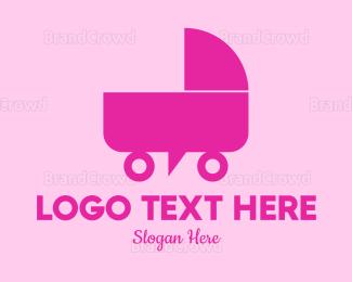 Cart - Baby Forum logo design
