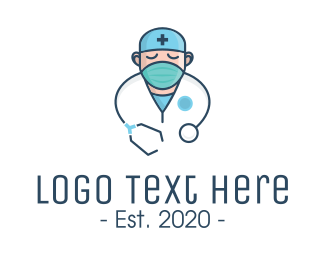 Worker - Medical Doctor Nurse logo design