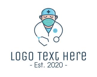 Medical Doctor Nurse Logo