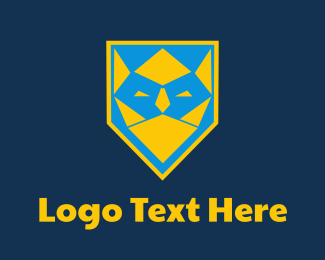Blue And Yellow - Kingster logo design