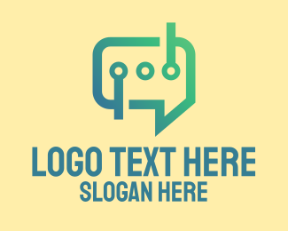 Software - Modern Messaging Software logo design