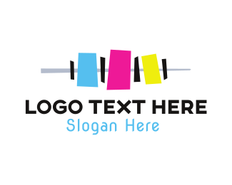 Inkjet - Cartridge Colors logo design