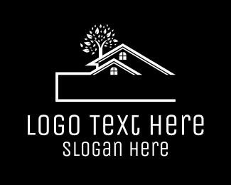Established - Blue Townhouse logo design