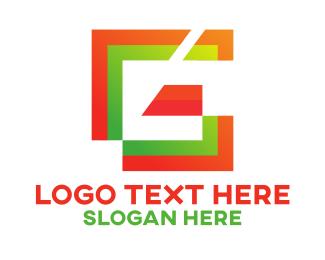 Letter G - Modern Geometric Letter G logo design