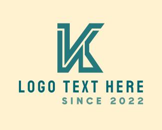 Letter K - Bold Letter K logo design