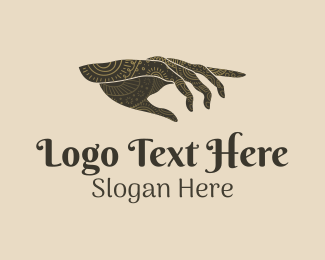 Palm Reading - Fortune Telling Hand logo design