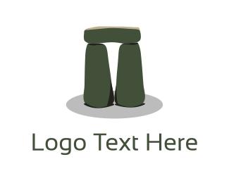 Hard - Stonehenge  logo design