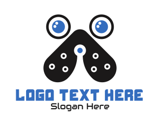 Doggy - Tech Dog App logo design