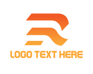 Minimalist - Minimalist R Outline logo design