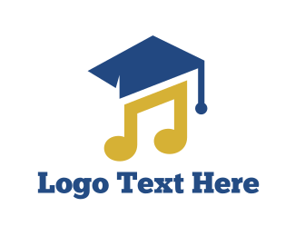 Music - Music Graduation logo design