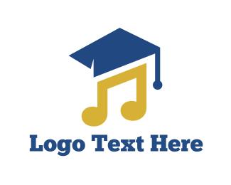 Graduate - Music Graduation logo design