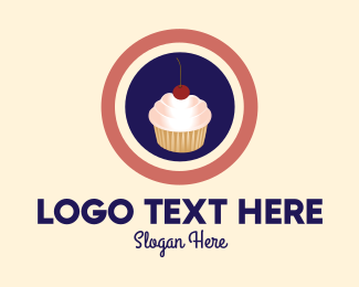 Tasty - Cupcake Shop logo design