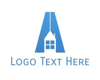 Estate Agency - Realty Letter A logo design