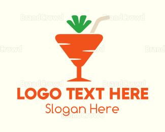 Cocktail - Carrot Cocktail  logo design