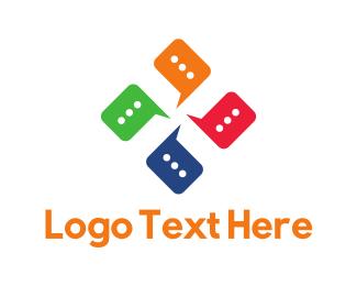 Forum - Talk Club logo design