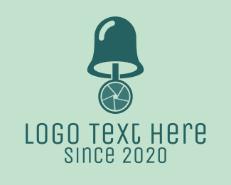 Bell - Colorful Camera Bell logo design