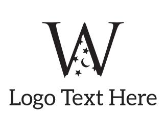 Unique - Magic W logo design