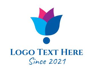 Spa - Organic Flower Spa logo design
