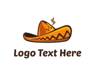 Mexican Restaurant - Mexican Hat logo design