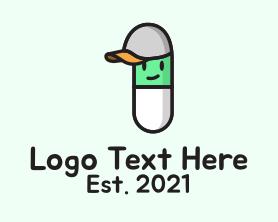 Medical - Pill Children Mascot logo design