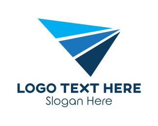 Triangles - Generic Trio Triangles logo design