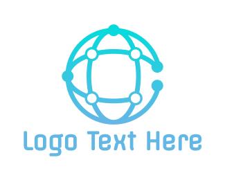 Global - Global Circuit C logo design