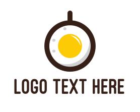 Coffee - Coffee & Egg logo design
