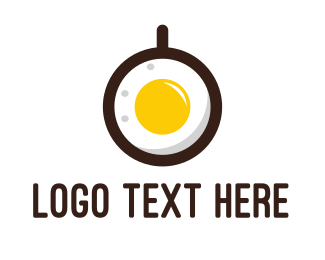 Brunch - Coffee & Egg logo design