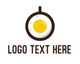 Meal - Coffee & Egg logo design