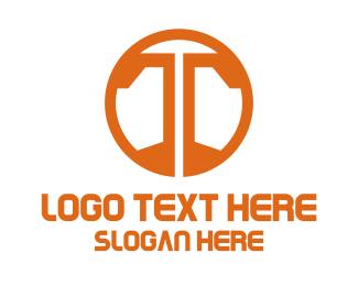 Symbol - Orange T Symbol logo design