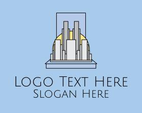 Buildings - Metropolitan City Buildings logo design