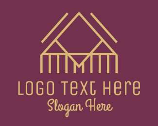 Minimalist - Minimalist Cabin logo design