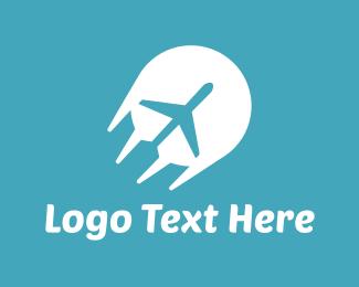 Planes - Fast Plane logo design