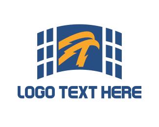 Airforce - Eagle Energy logo design