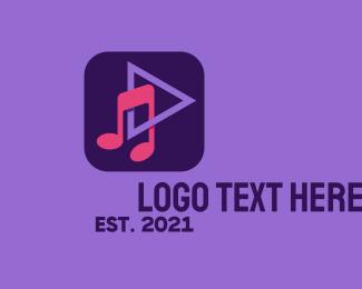 Stream - Music Streaming App logo design