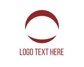 Loop - Moon Circle logo design