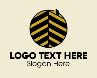 Rise - Luxury Building Emblem  logo design