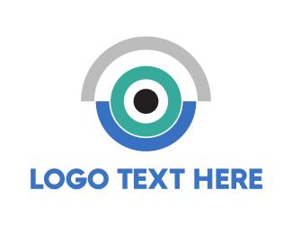 Camera - Blue Camera logo design