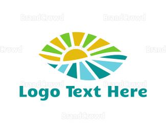 Farmers - Leaf Landscape logo design