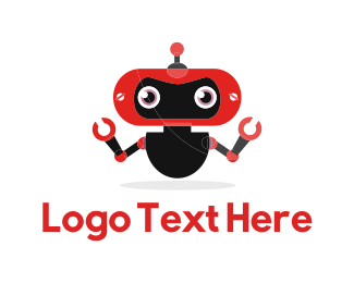 Android - Red Robot logo design