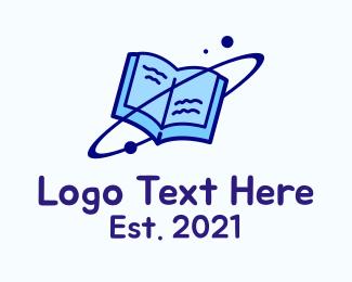 Science - Orbit Science Book logo design