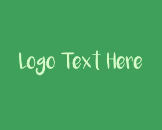 Wordmark - Chalk Wordmark logo design