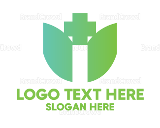 Dietitian - Minimalist Herbal Medicine logo design
