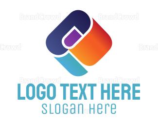 Advertising - Abstract Clip logo design
