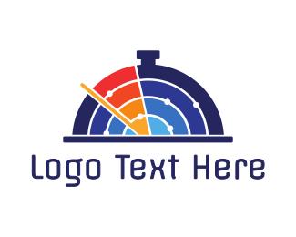 Chef - Radar Food logo design
