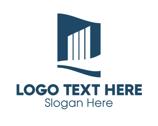 Real Estate - Company Building  logo design