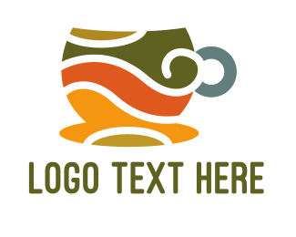 Cup - Elegant Coffee Cup logo design