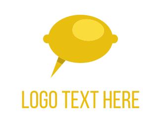 Lemon - Lemon Talk logo design