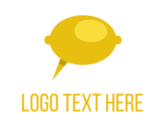 Talking - Lemon Talk logo design