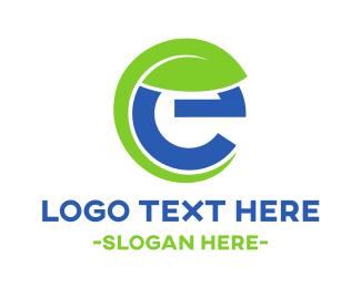 Eco Energy - Eco E logo design